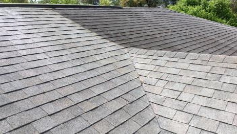 Good Professional Roof Cleaning See The Difference